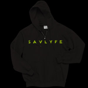 Kids Savlyfe Zip Hood Green Thumbnail