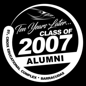 Class of 2007 Official Reunion Tee 2 Thumbnail